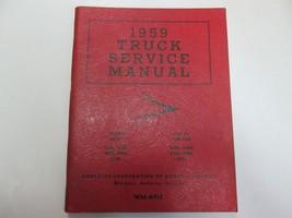 1959 Chrysler Truck Dodge Fargo D100 D300 400 500 700 FM6 FM8 Service Ma... - $96.02