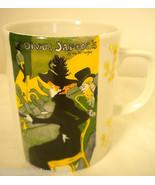 Toulouse Lautrec Divan Japonais Porcelain Mug Cup Limoges France 976 10 oz - $19.58