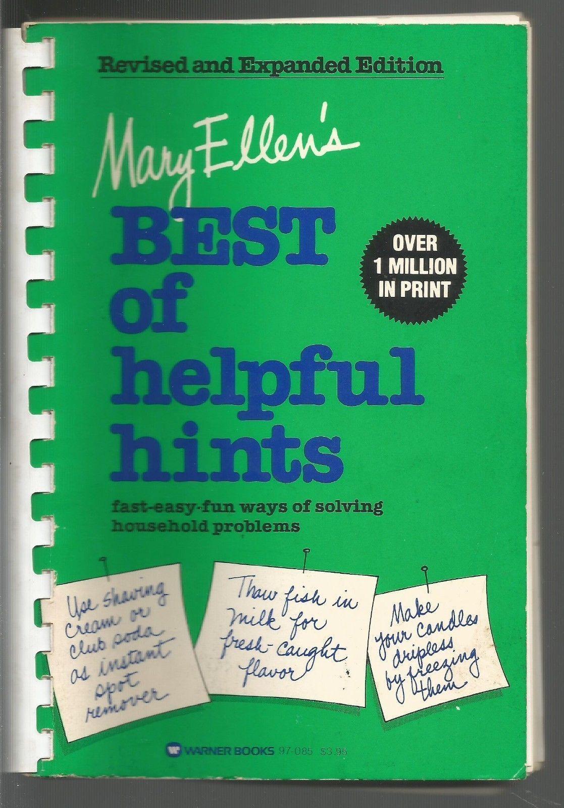 Mary Ellen's Best of Helpful Hints Mary Ellen Pinkham/Pearl Higginbotham Comb