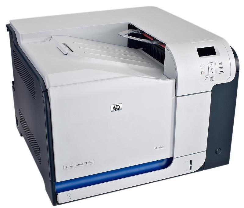HP Color LaserJet CP3525N Workgroup Laser Printer