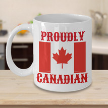 Proudly Canadian Personalized Mug Birthday Gift For Coffee Lover Him Her Men Wom - $14.99