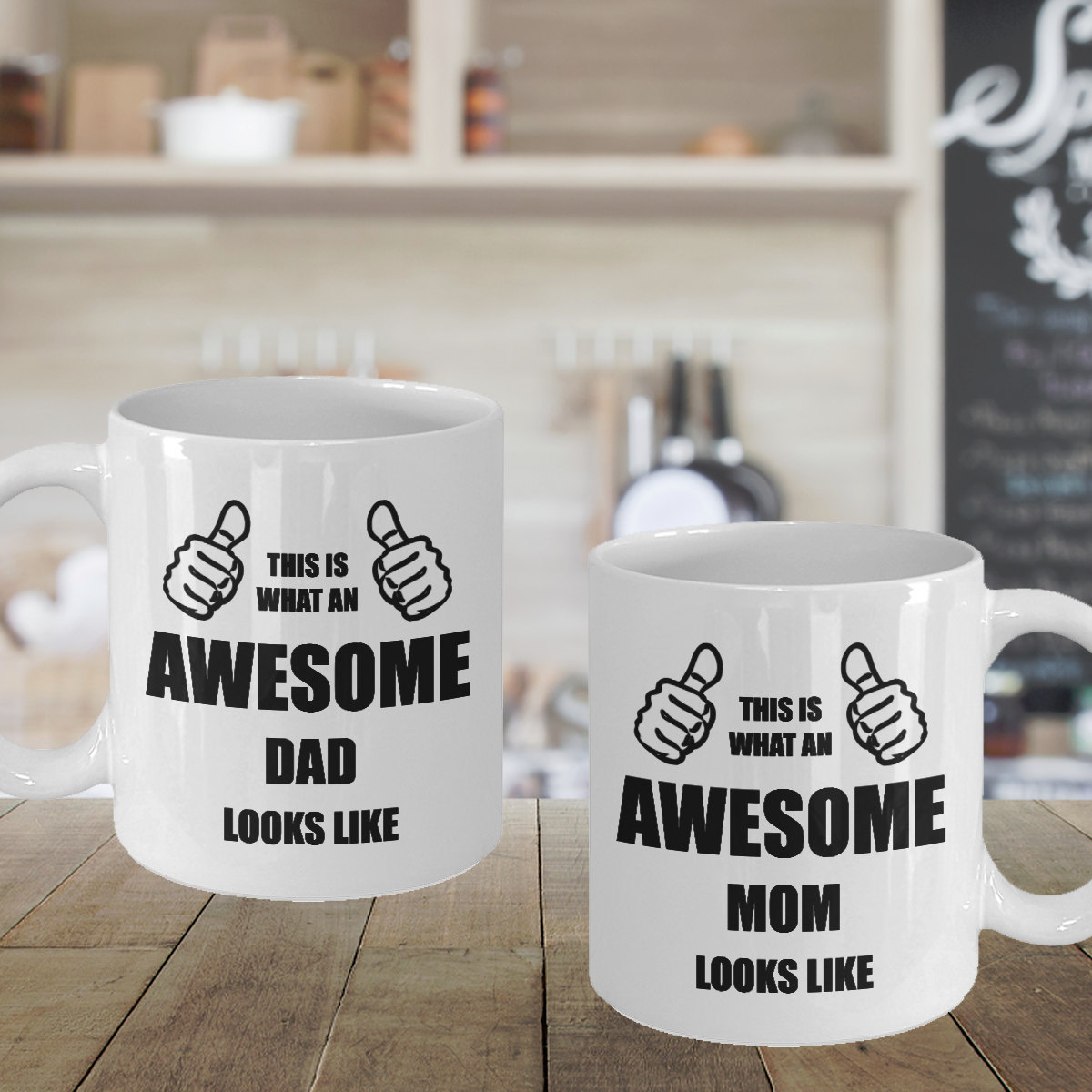 Personalized Coffee Mug Set Birthday Gift and 50 similar items