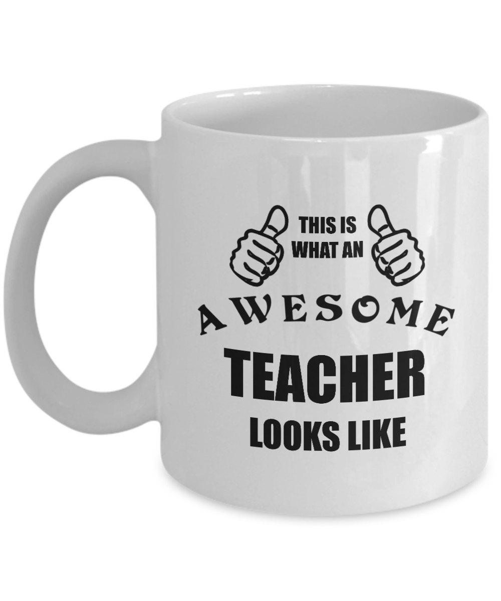 Funny Mug Birthday Personalized Gift For Teacher Coffee Lover Him Her Men Women