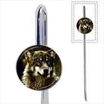 Wild Wolf Bookmark - Book Lover Novelty Gifts - $12.53
