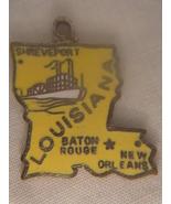 LOUISIANA STATE SOUVENIR PENDANT (#1798) - $7.99