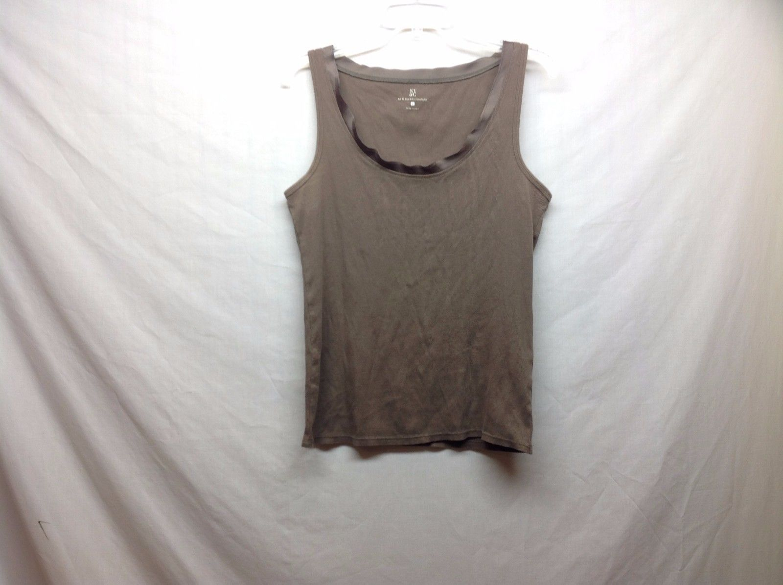 New York And Co Womens Brown Tank Top Size Large