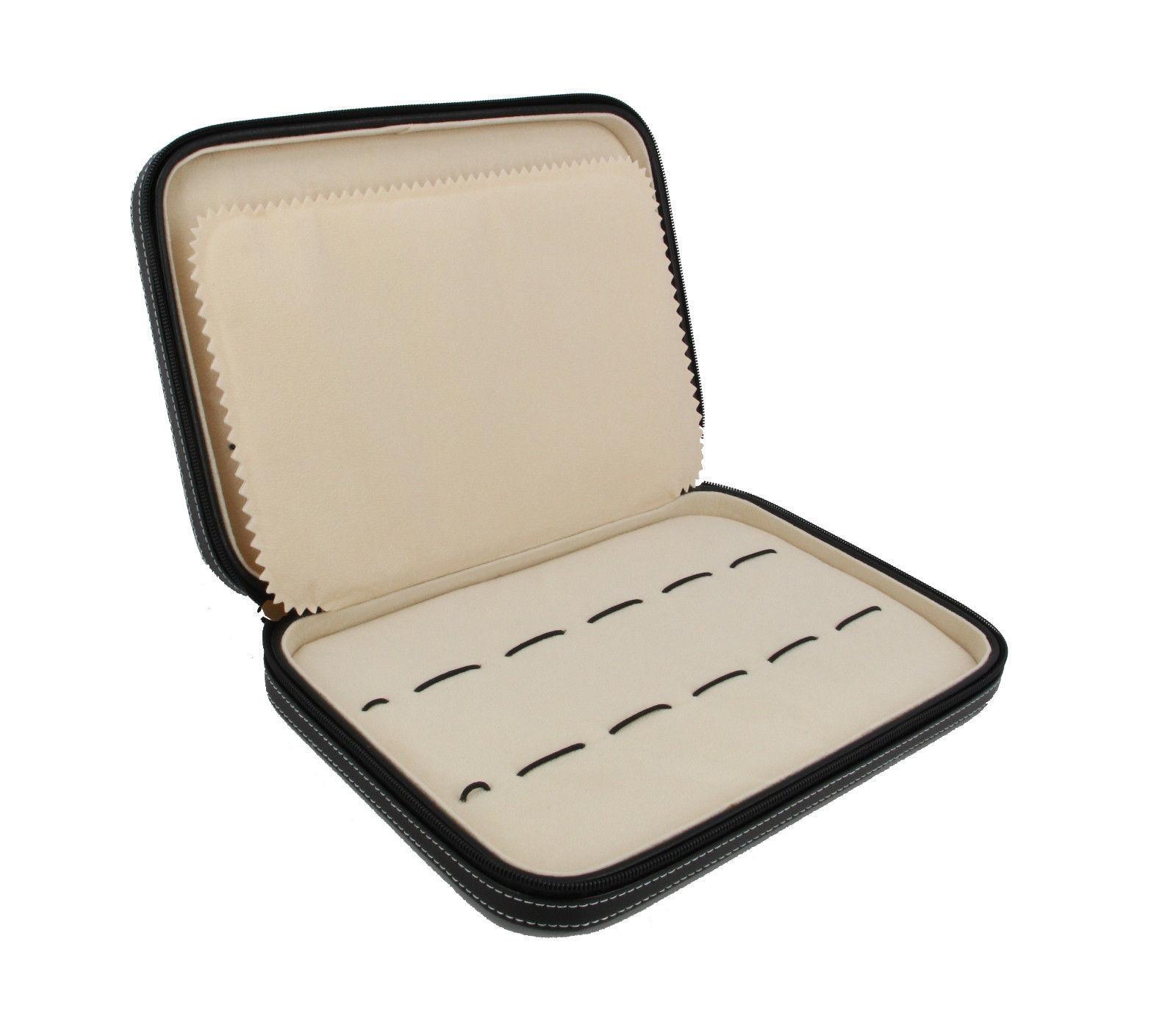 Decorebay Executive High class 10-slot Watch Strap Slot Leather Box New Gift