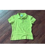 Girl's LACOSTE Classic Piqué Polo Shirt Bright Green Size 40 - $14.01