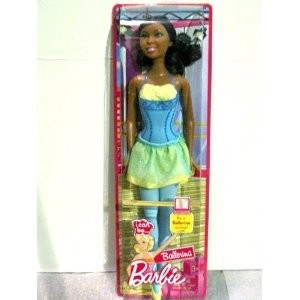 Barbie i can be ballerina african american