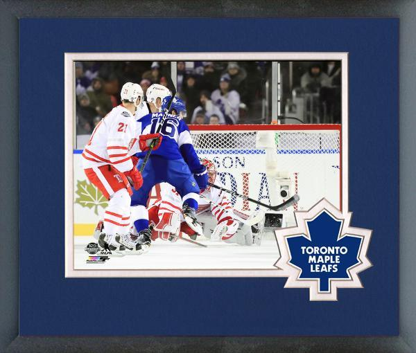 Mitch Marner 2017 NHL Centennial Classic Action-11x14 Matted/Framed Photo