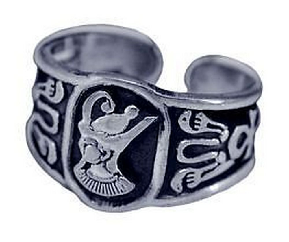 Sterling Silver Egyptian Pharaoh Ring egypt King tut