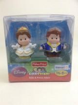 Little People Talkers Disney Beauty & The Beast Belle Prince Adam Fisher... - $14.80