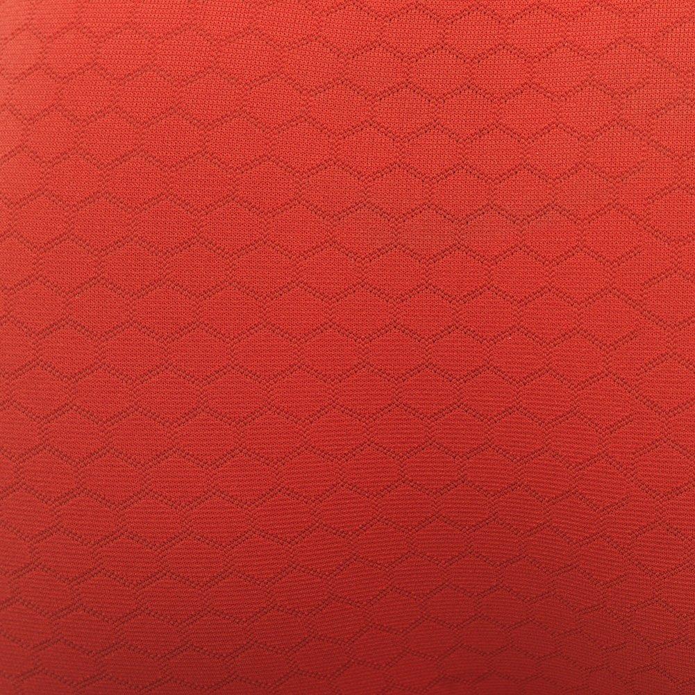 Lupo Mens Patterned Boxer Briefs, Orange Large