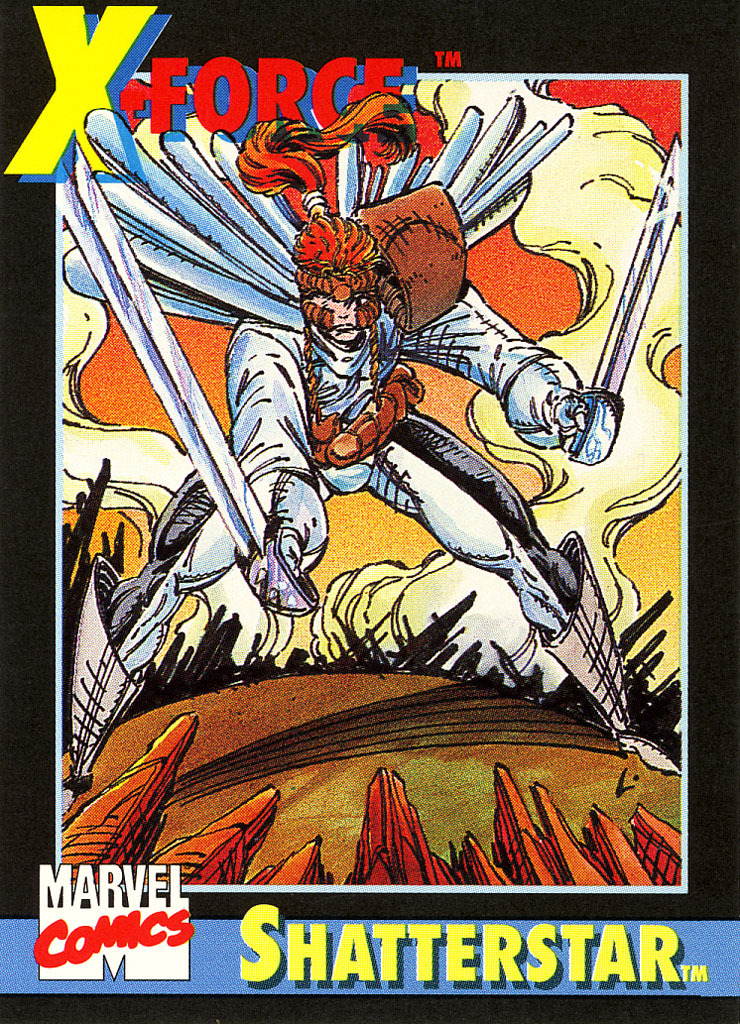1991 Marvel Universe Promo Card #2 - Shatterstar
