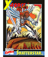 1991 Marvel Universe Promo Card #2 - Shatterstar - $4.79