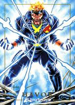1992 Marvel Masterpieces #35 - Havok - $0.45