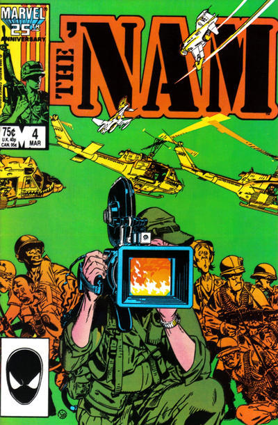 The 'NAM #4 (Marvel Comics) NM!