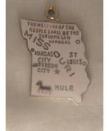 MISSOURI STATE SOUVENIR PENDANT (#1801) - $7.99