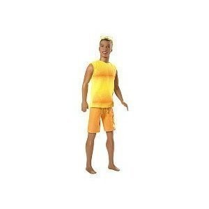 Barbie beach party steven doll