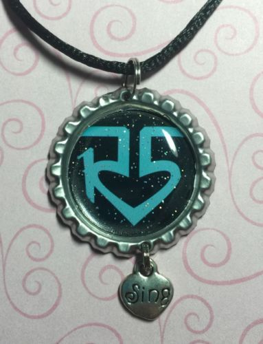 Popular Band Logo Of R5 Bottle cap Necklace *Lynch Family