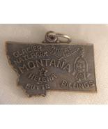 MONTANA STATE SOUVENIR PENDANT (#1802). - $7.99