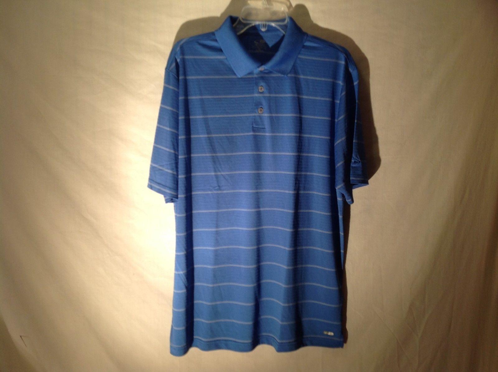 Men's Champion Golf t- shirt Polo blue