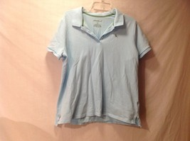 Eddie Bauer Light blue polo shirt sleeve
