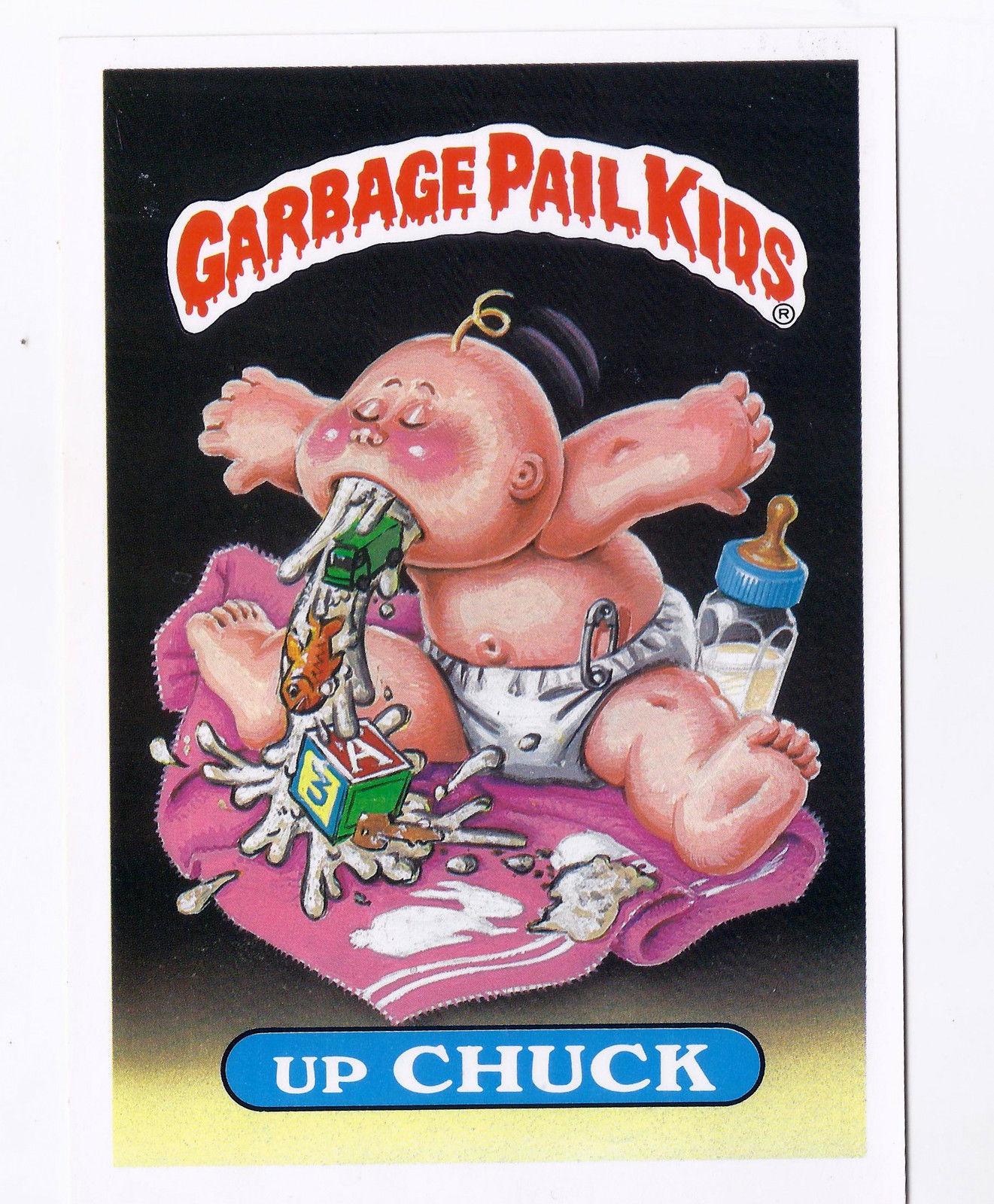 Garbage Pail Kids Giant Size Cards Lot #5 1986 Originals