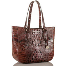 Brahmin Medium Lena Melbourne Leather Shoulder Bag - $178.81