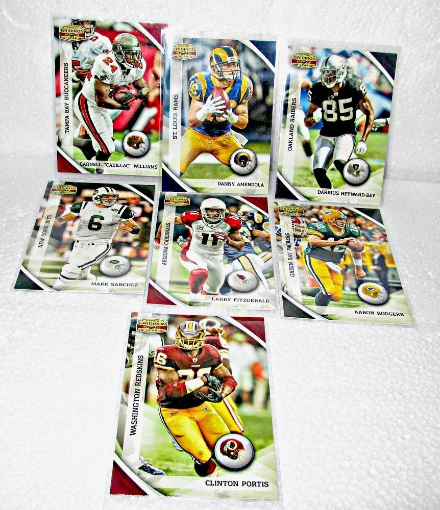 Football Gridiron 2010 Lot of 55 Cards Rookies Peyton Manning