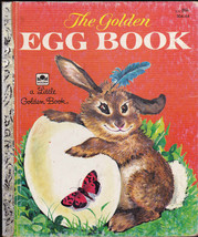 The Golden Egg Book Little Golden Book Margaret Wise Brown, Lilian Obligado - $9.04