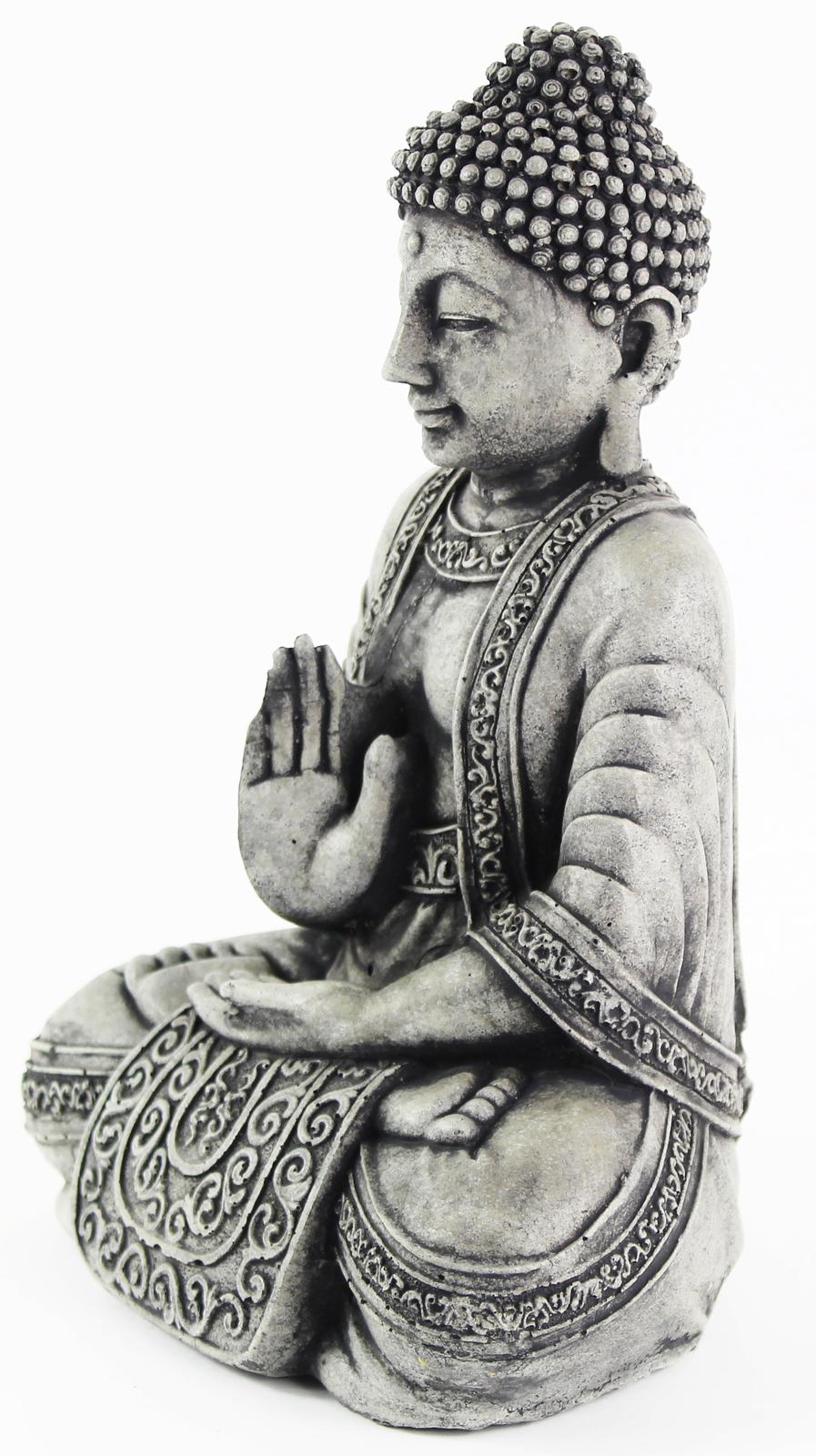 438 meditating sitting buddha lamp black 6
