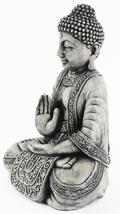 Meditating Sitting Cement Buddha Concrete Statue - $64.00