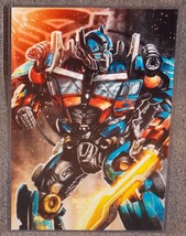 Transformers Optimus Prime Glossy Print 11 x 17 In Hard Plastic Sleeve - $24.99