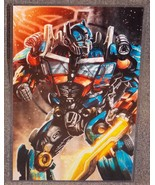 Transformers Optimus Prime Glossy Print 11 x 17 In Hard Plastic Sleeve - $24.99