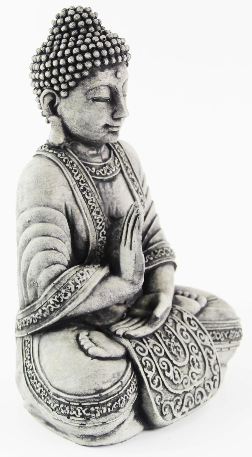 Meditating Sitting Cement Buddha Concrete Statue