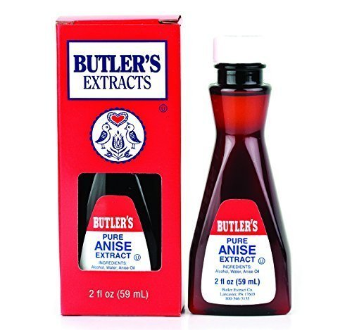 Butler's Pure Anise Extract, 2 Oz. Bottle by Butler's Extracts