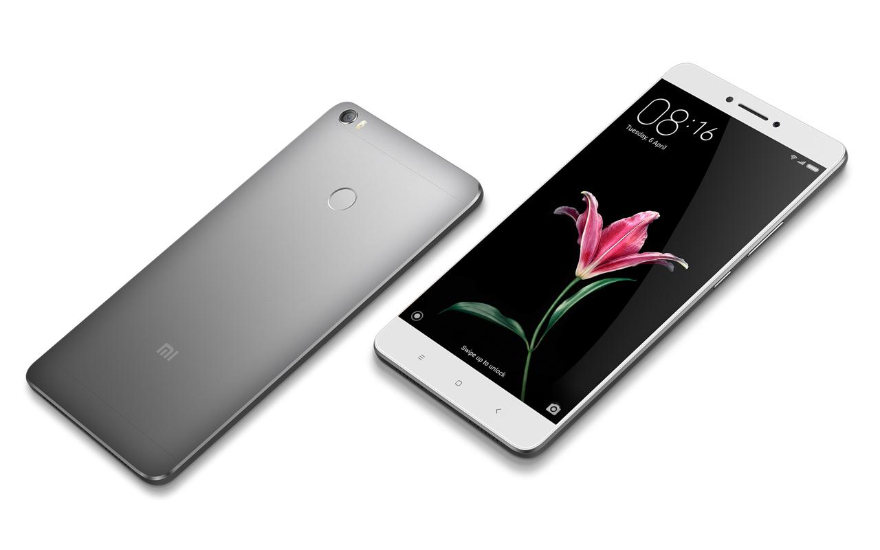 "xiaomi mi max gray 4gb ram 128gb rom 6.44"" screen android 6.0 4g lte smartphon"