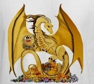 HAUNTED queen Guardian Gold Dragon protective SOULmate love ring energy power