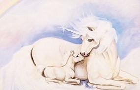 7961 unicorn pastel posters