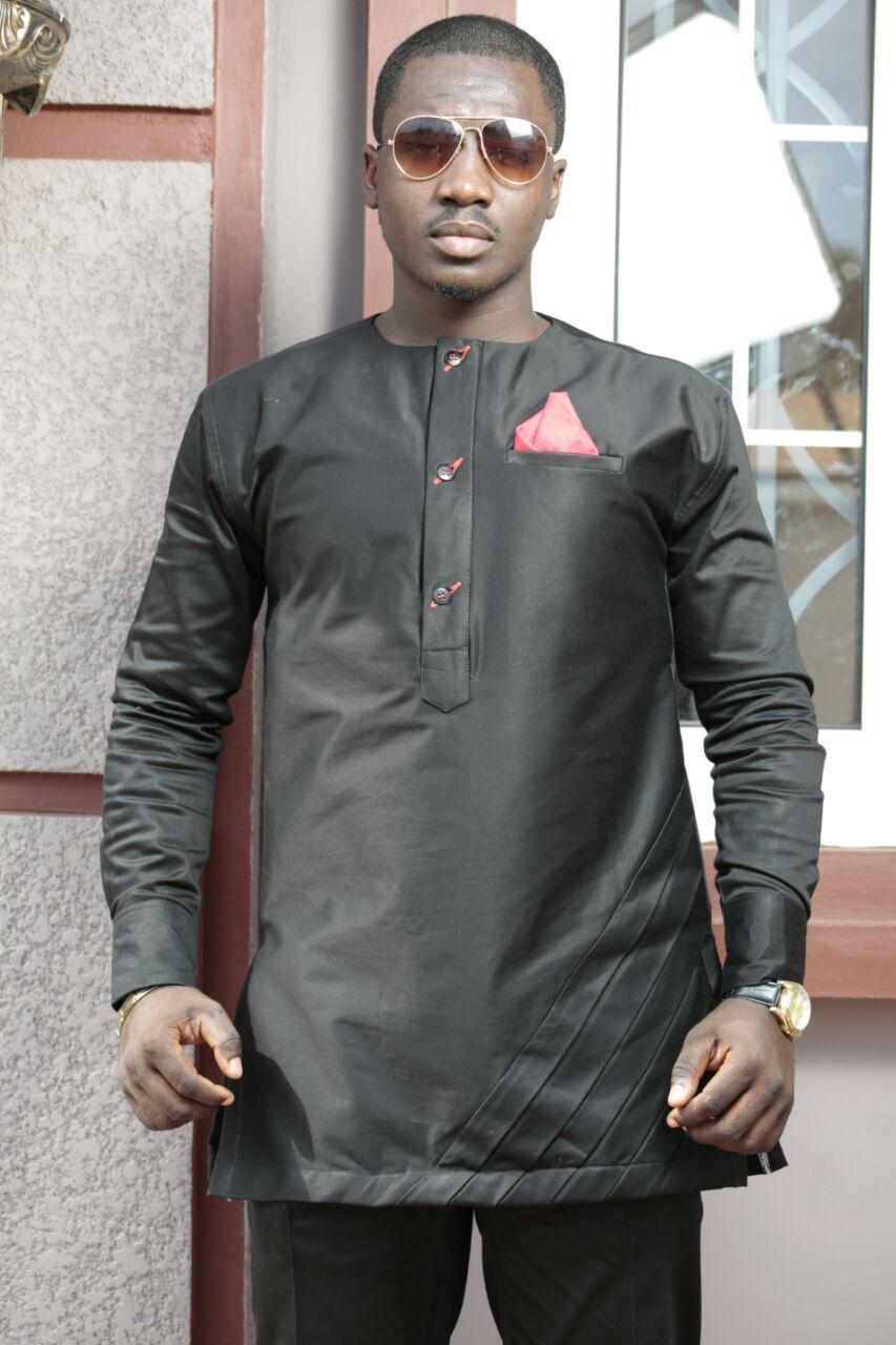 Black-Out Men's African Clothing African Wear Men's Clothing Pants & Shirt Men