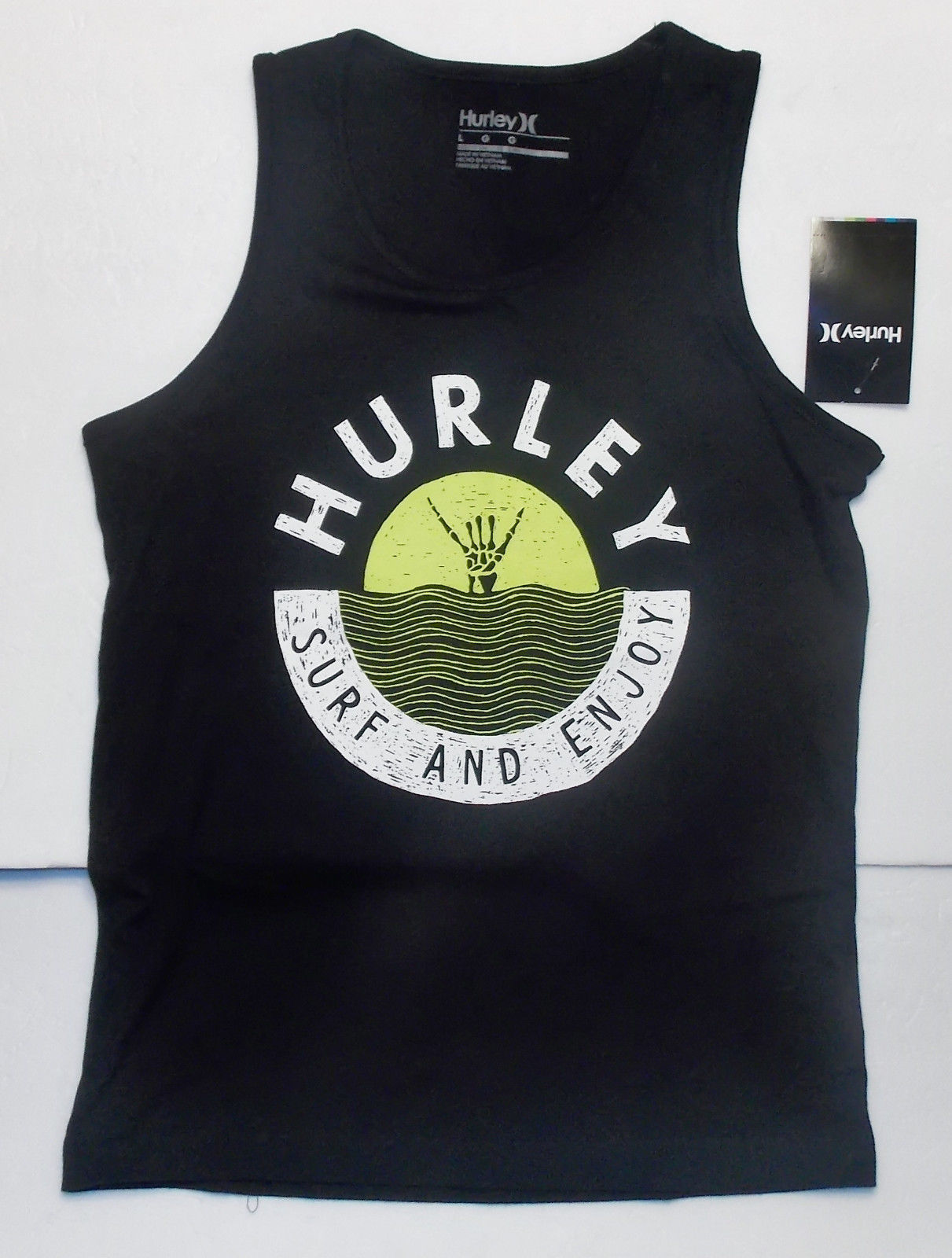 Hurley Youth Boys Tank Tops Muscle Shirt Various Colors and Sizes 4-16   NWT