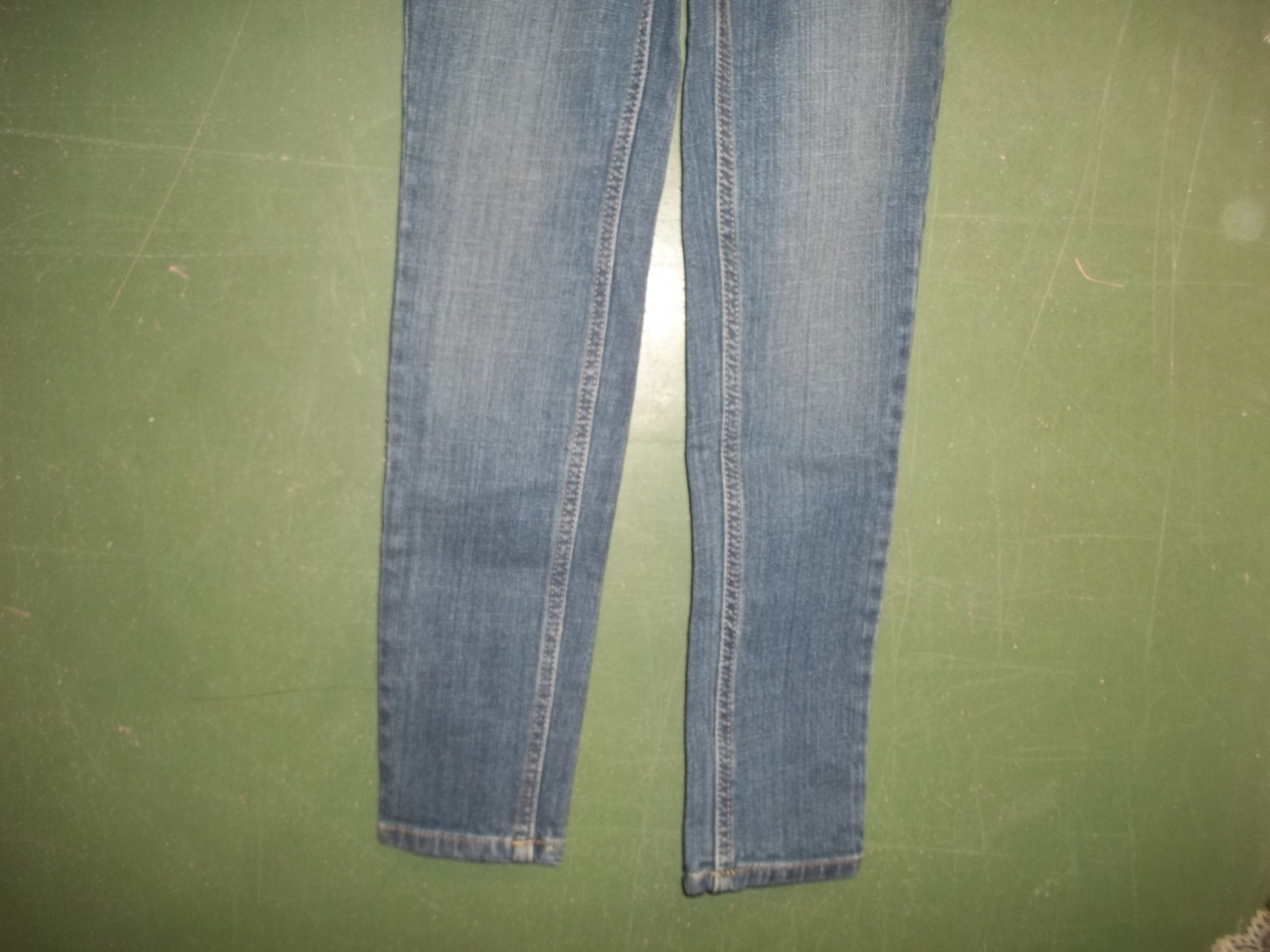 Girls Size 8 Blue Jeans Lands End Adjustable Waist