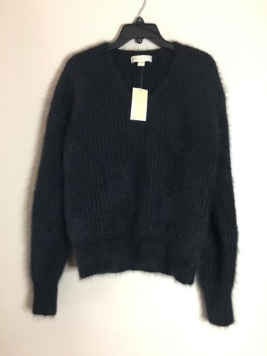 Michael Kors. Long Sleeve Angora Rabbit Hair  Oversized Sweater SzXS Fit S