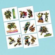 Teenage Mutant Ninja Turtles Birthday Party 16 Tattoos Favors Loot - $2.61 CAD