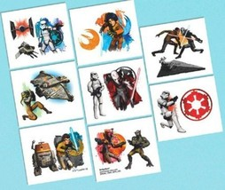 Star Wars Rebels Temporary Tattoos 16 ct Party Favors Tattoo - $2.11 CAD