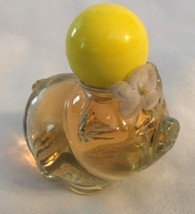 "Vintage AVON Honeysuckle.75 Oz 2"" Pig Figurine Perfume Bottle - $8.51"