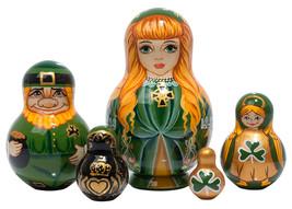 """Irish Nesting Doll - 6"""" w/ 5 Pieces - $54.00"""