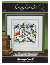 Stoney Creek Chart Packs-Songbirds - $12.33