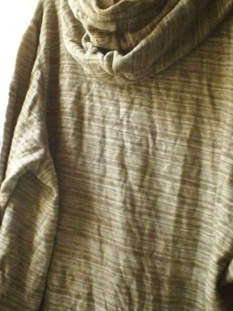 Old navy 3XL beige brown stripped camo HOODIE